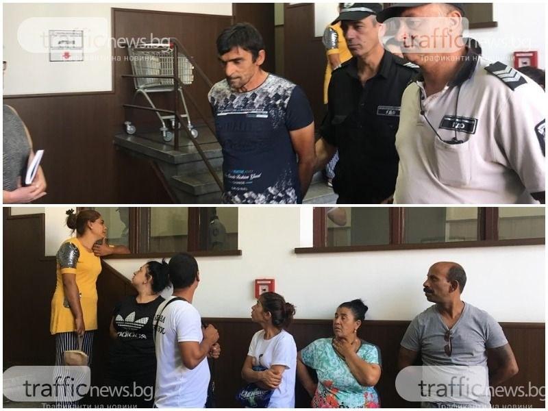 Роднини на шофьора, прегазил моториста край КЦМ, напълниха съда в Пловдив – твърдят, че е невинен