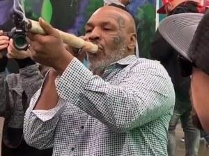 Майк Тайсън пушил канабис за 40 000 долара на месец