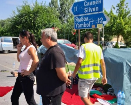 Протестиращите свиневъди вдигнаха блокадата край Сливен