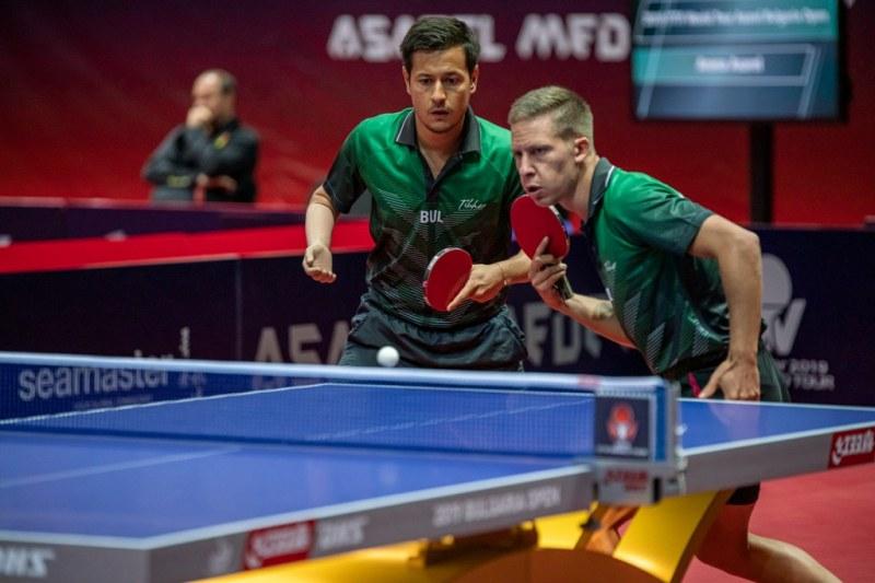 Българи на четвъртфинал на силния турнир по тенис на маса в Панагюрище