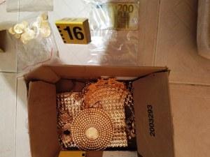 Акция в Пазарджик! Откриха голямо количество злато в магазин за телефони