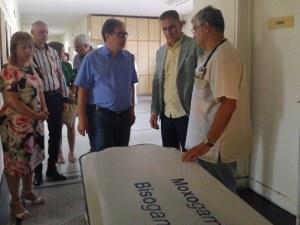 КЦМ 2000 Груп дари регулируеми легла, дюшеци и носилка на МБАЛ Асеновград