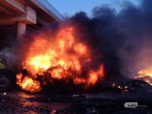 Собственикът на пламналия склад в Дупница: Нарушавах закона, ама нямаше как