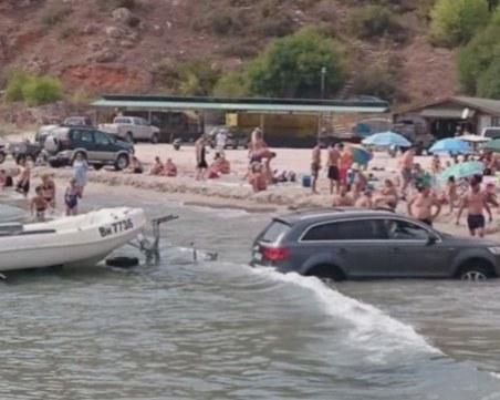 До 3 бона глоба за батка, паркирал джипа на плажа