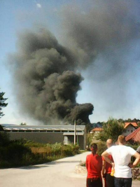 Експлозия избухна във фабрика в Сърбия, има пострадал