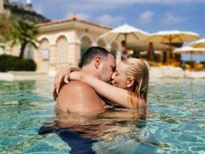 Емилия и Жорж Башур се радват на романтична ваканция