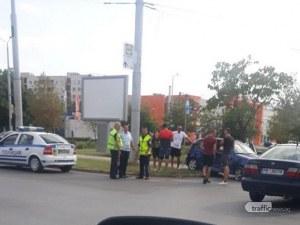 Катастрофа в Пловдив – две коли се удариха на печално кръгово в Тракия