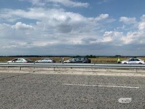 Три коли се нанизаха на АМ Тракия до мястото на тежката катастрофа
