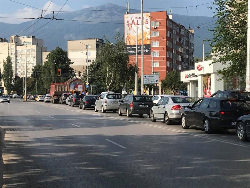 Променят движението на няколко места в София