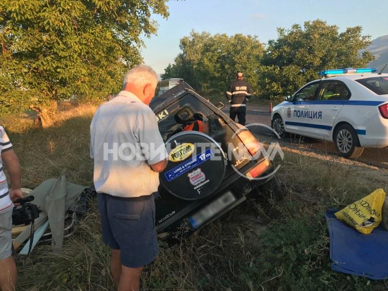 Мъж пострада при катастрофа на Подбалканския път София – Бургас
