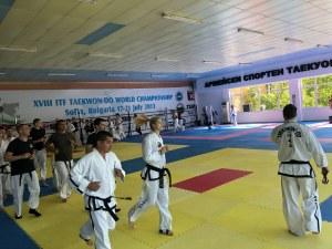 Националите тренират в Пловдив за световното по таекуон-до