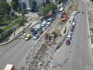 """Пускат движението по столичния бул. """"България"""" след ремонт"""
