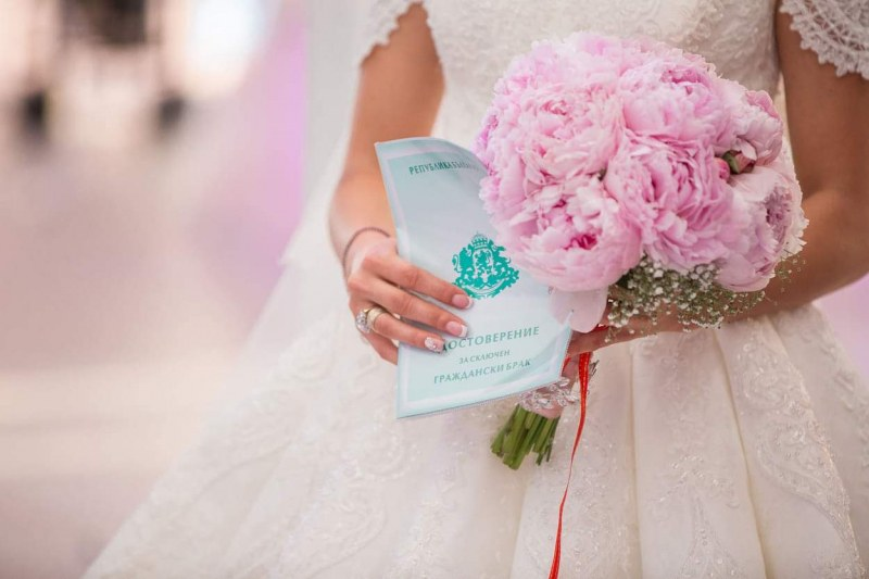 Младоженци от Пловдив си казват