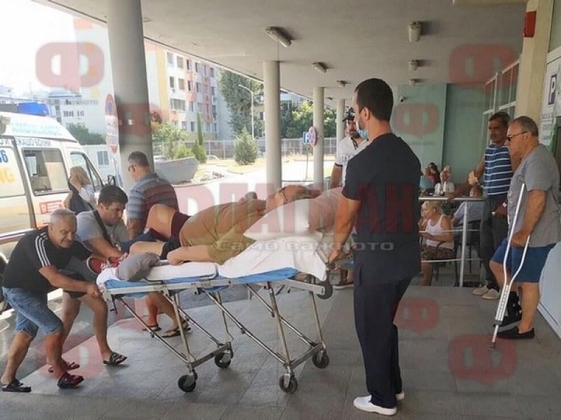 Приеха по спешност Стефан Данаилов в бургаска болница