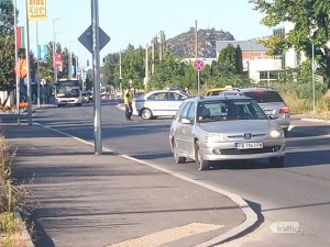 Дете пострада при катастрофа в Пловдив, откараха го в болница