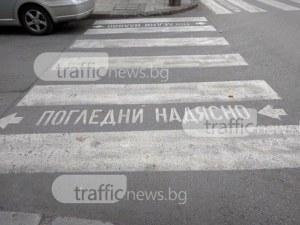 Кола отнесе баба и внучето й на пешеходна пътека в Мадан