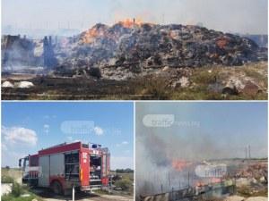 Код червено! Висока степен на опасност от пожари в цялата страна