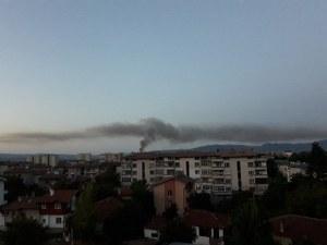 Няма замърсяване на въздуха след пожара в Карлово