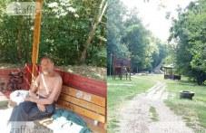 След публикация на TrafficNews: Пенсионерът, бедстващ на беседка в парк, вече има подслон