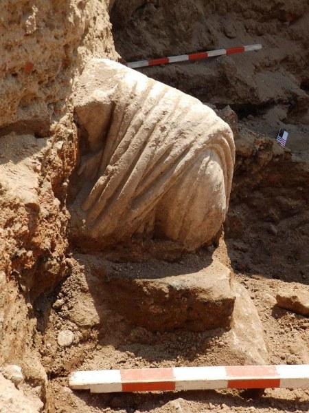 Две римлянки без глава изкопаха в Хераклея Синтика