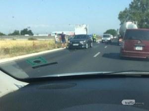 Катастрофа след село Труд задръсти пътя за Карлово