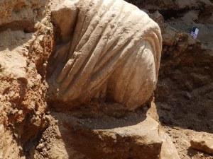 Нов римлянин без глава изкопаха в Хераклея Синтика