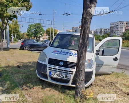Две коли се нанизаха в пловдивския район Тракия