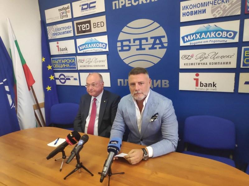 Официално: Георги Колев влиза в битката за кмет на Пловдив
