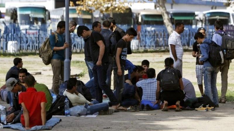 Евакуираха голям лагер с мигранти от Източна Европа край Страсбург