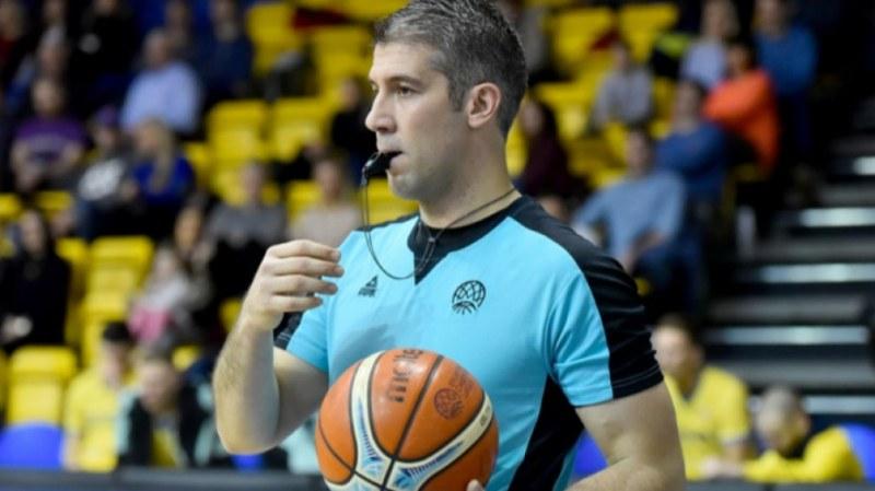 Пловдивски рефер вече в Китай - ще свири на световното по баскетбол