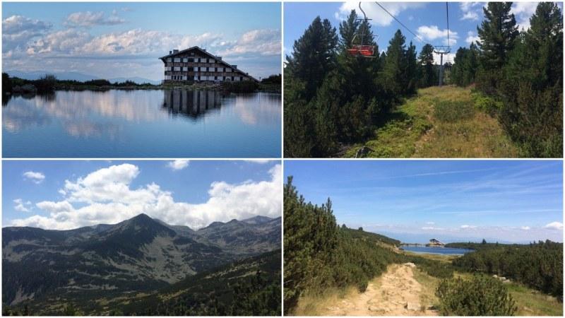 Време е за планински туризъм! С лифт нагоре по Пирин към Безбожкото и Попското езеро