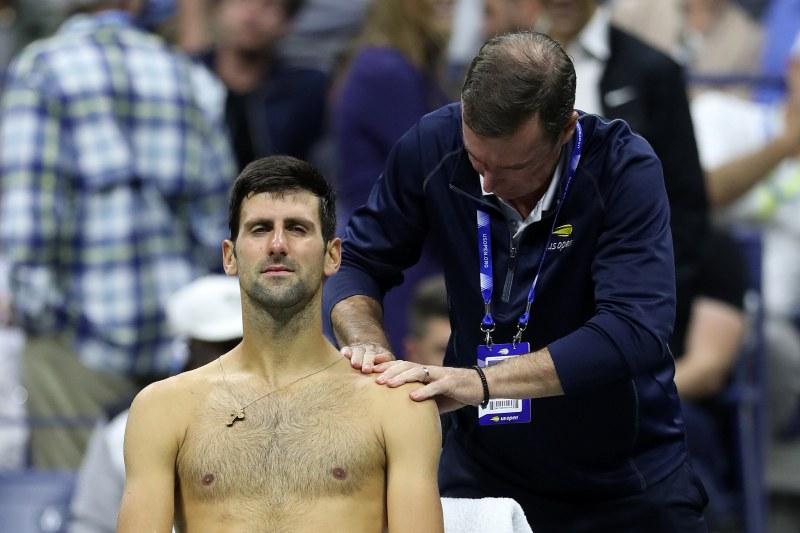 Джокович приключи участието си на US Open с контузия