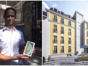 Кандидат -Кръстник на новата перла в сърцето на Пловдив получи своята награда - iPhone XS MAX