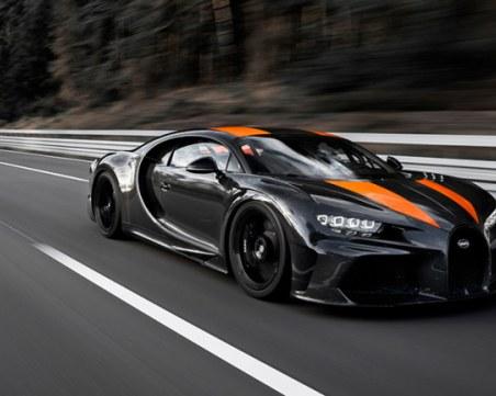 Bugatti Chiron постави нов рекорд за скорост