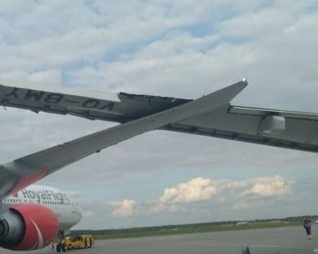 Два самолета се сблъскаха в Москва