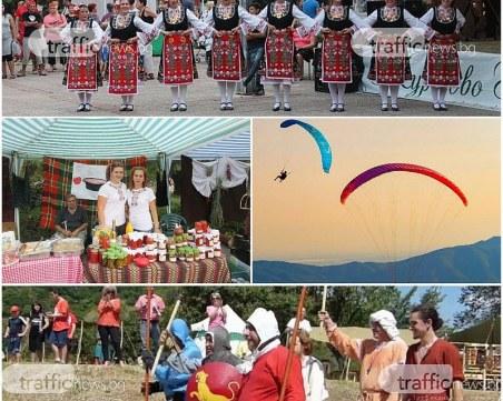 Три дни фестивали край Пловдив: Младежи приготвят рок салата, средновековни войни стрелят с арбалет