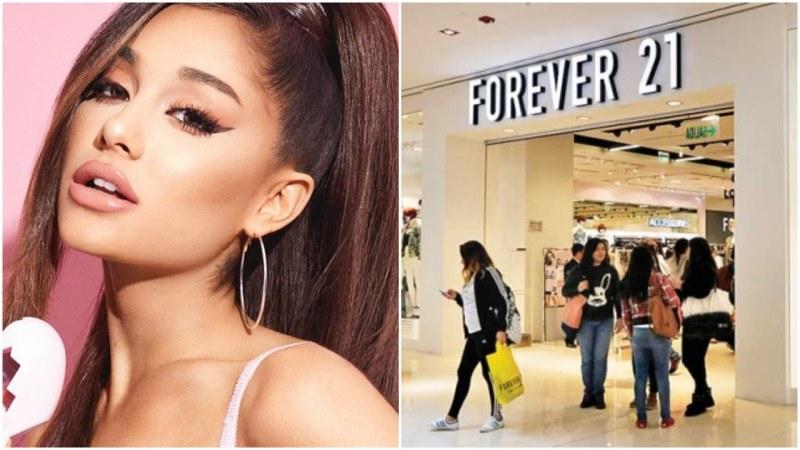 Ариана Гранде съди модната компания Forever 21