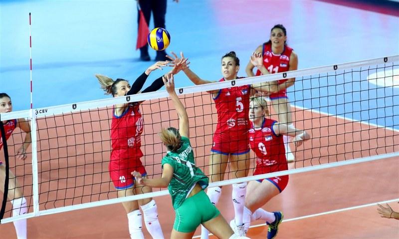 Световният шампион спря България на европейското по волейбол