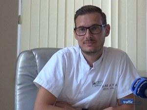 Младите лекари на Пловдив: С технология от бъдещето д-р Загоров извайва усмивки само за няколко часа
