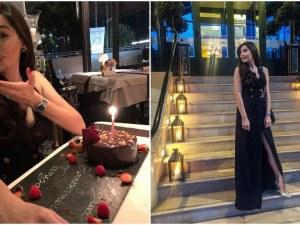 Таня Теттаманти отпразнува 28-мия си рожден ден в стилен ресторант в Женева