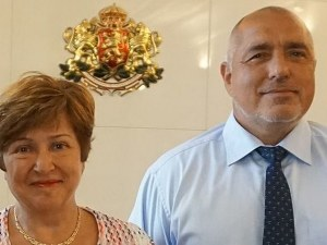 Кристалина Георгиева обсъжда с Борисов приоритетите си като бъдещ шеф на МВФ