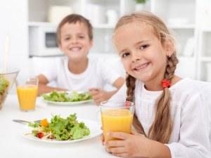 Не насилвайте децата да изяждат докрай храната си