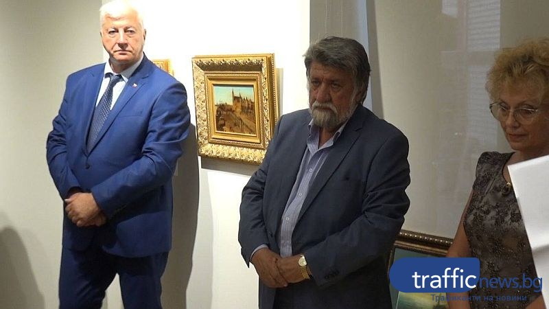 Вежди дарява пет картини на пловдивската галерия