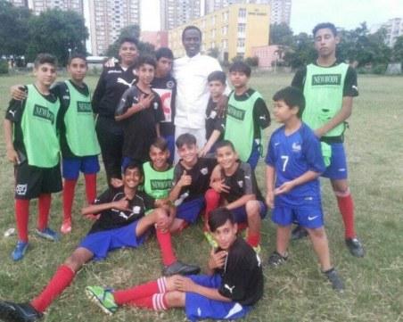 Детски отбор от Столипиново не получи картотека заради стадиона си