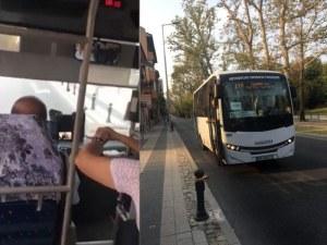 Безумие! Шофьор на рейс в Пловдив гледа турски сериал, скача на бой след забележка