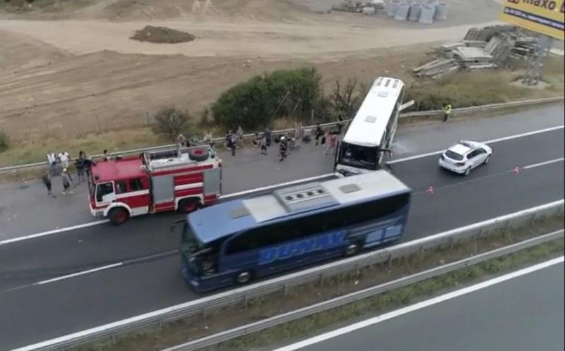 8 души са в болница след катастрофата между бус и ТИР на Хемус