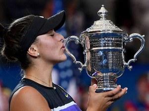 19-годишна канадка триумфира на US Open