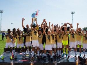 Андерлехт спечели силния детски турнир в Коматево