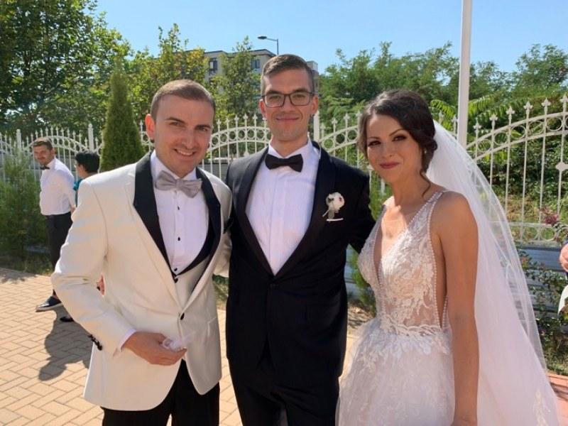 Желан ерген от Пловдив вдигна сватба