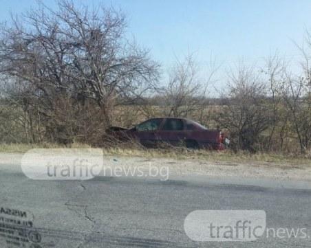50-годишен мъж загина намясто при катастрофа край Харманли
